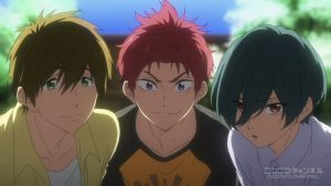 「Free!-Dive to the Future-」第2話