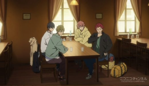「Free!-Dive to the Future-」第1話
